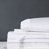 Abingdon White Sheet Set