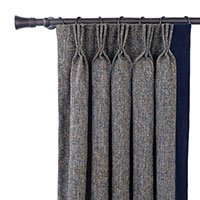 Rosenthal Dusk Curtain Panel Left