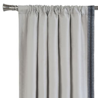 Edris Fog Curtain Panel Left