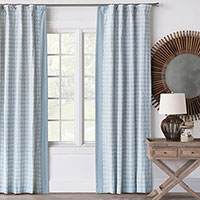 Penelope Medallion Curtain Panel (Left)