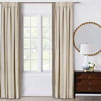 Silvio Beaded Curtain Panel Left