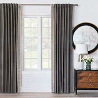Indochine Curtain Panel Left