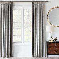 Zephyr Metallic Curtain Panel