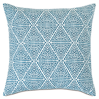 Clementine Geometric Decorative Pillow