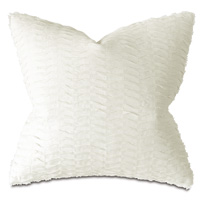Paris Pleated Decorative Pillow