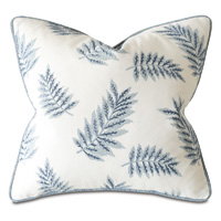 Capri Embroidered Decorative Pillow