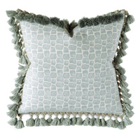Stockholm Tasseled Decorative Pillow