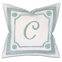Stockholm Monogram Decorative Pillow