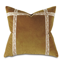 Dublin Velvet Decorative Pillow