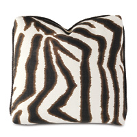Tanzania Zebra Print Decorative Pillow