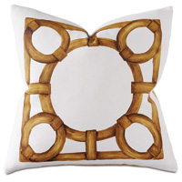 Tanzania Handpainted Decorative Pillow