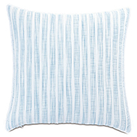 Castaway Seersucker Decorative Pillow