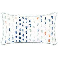Castaway Seaglass Decorative Pillow