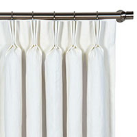 Breeze White Curtain Panel