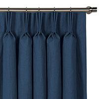 Breeze Indigo Curtain Panel
