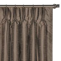 Edris Taupe Curtain Panel