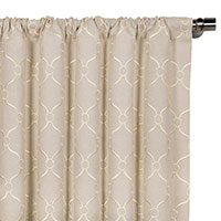 Theodore Linen Curtain Panel