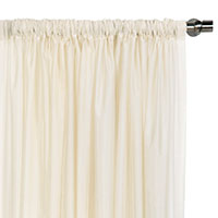 Ambiance Creme Curtain Panel