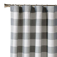 Phipps Slate Curtain Panel