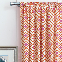 Taylor Starburst Curtain Panel