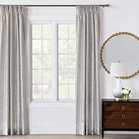 Vionnet Platinum Curtain Panel