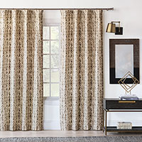 Yara Earth Curtain Panel