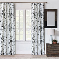 Banks Marble Curtain Panel