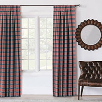 Kilbourn Plaid Curtain Panel