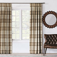 Aldrich Plaid Curtain Panel
