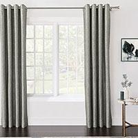 Echo Metallic Curtain Panel