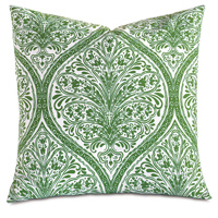 Adelle Percale Decorative Pillow In Grass