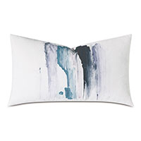 Lyra Handpainted Decorative Pillow