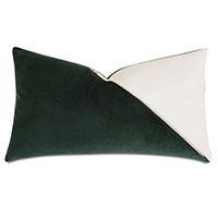 Izaro Zipper Detail Decorative Pillow (Right)
