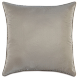 Freda Taffeta Decorative Pillow in Steel