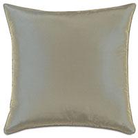Freda Taffeta Decorative Pillow in Cornflower