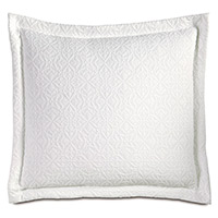 Mea White Decorative Pillow