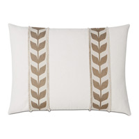 Akela Leaf Decorative Pillow In Gold