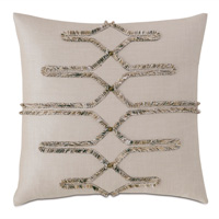 Teryn Brush Fringe Decorative Pillow
