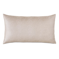 Teryn Faux Snakeskin Decorative Pillow