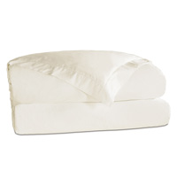 Roma Luxe Ivory Duvet Cover