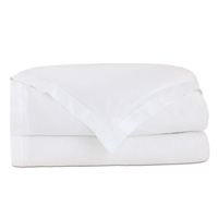 Lusso White Duvet Cover