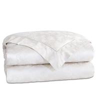 Millefleur White Duvet Cover