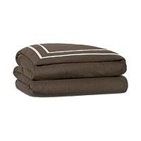 Resort Clay Fret Duvet Cover