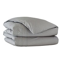 Vail Percale Duvet Cover In Heather