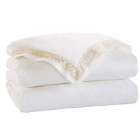 Juliet White/Ivory Duvet Cover