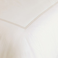 Enzo Ivory/Bisque Duvet Cover
