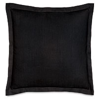 Resort Black Euro Sham