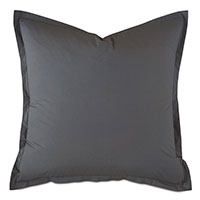 Vail Percale Euro Sham In Slate