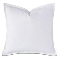 Vail Percale Euro Sham In White