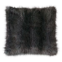 Indochine Faux Fur Euro Sham